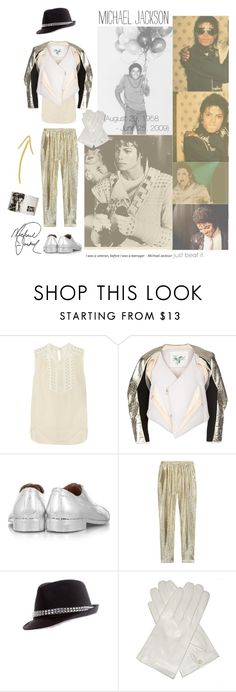 """Smooth Criminal"" by patpatkay ❤ liked on Polyvore featuring Étoile Isabel Marant, Maison Margiela, STELLA McCARTNEY, 2b bebe, Taschen, P. Michael and michael jackson"
