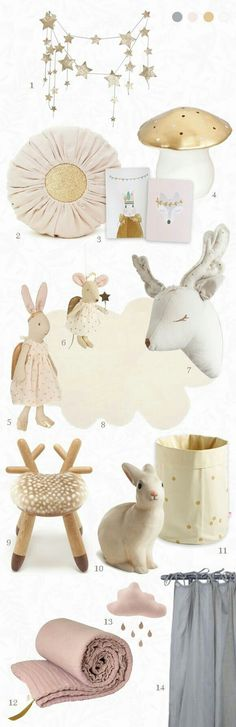 Beautiful soft toys and accessories.