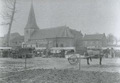 Markt in Hoensbroek 1928