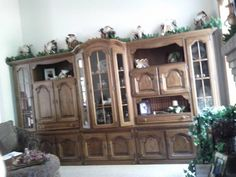 Craigslist Posting Forrest Lake MN SELLER LIVED AND PURCHASED THIS GERMAN SCHRANK OAK WALL UNIT IN GERMANY If Interested Read Entire Post On CL Or