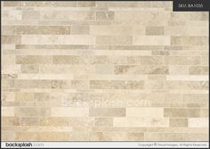 subway travertine tile | Brown Beige Color Travertine Subway Mosaic Backsplash Tile