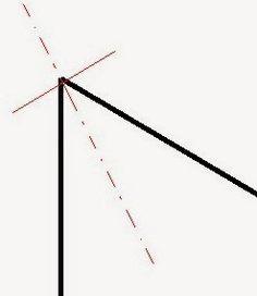 Když totiž ušijete roh, je potřeba jej zbavit přebytečného materiálu a odstřihnout ho až na poslední vlákenko, které brání roztřepení.Trik-Není potřeba odšívat přesný roh, protože ten stejně po obrácení nikdy nevyjde, vždy vzniká drobná oblost, její míra pak záleží na materiálu. Je proto lepší tuto oblost reflektovat už v tom, jak roh šijeme. Line Chart, Diagram, Sewing, Boudoir, Patterns, Scrappy Quilts, Simple Lines, Block Prints, Dressmaking