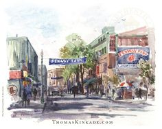Thom was an accomplished artist in many different media. Watercolors were also an endeavor that Thomas Kinkade mastered. He took advantage of quick drying times to capture outdoor light in French landmarks and Italian countryside scenes, and in simple bouquets of flowers. Learn more: https://thomaskinkade.com/artist/thomas-kinkade-styles/?ref=13