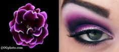 bold eyeshadows | Makeup Geek shows us how to create bold purple eyeshadow looks, using ...