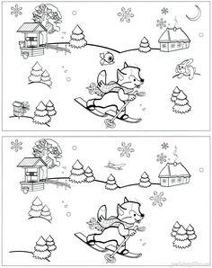 Новый год для детей Snow Activities, Winter Activities For Kids, English Activities, Preschool Activities, Math Sheets, Activity Sheets, Christmas Colors, Kids Christmas, Christmas Coloring Sheets