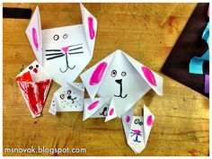 Organized Chaos: Origami Cats and Dogs - Kindergarten