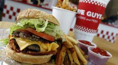 Washington, D.C.–area favorite Five Guys burst across the fast-food scene since they started offering franchises in 2003, with well over a thousand locations now open across America, and even Canada and the U.K. The burger joint offers a simple menu with fresh ingredients free of artificial flavors or hidden chemicals. …   http://www.strengthbody.net/fast-food-shakedown-five-guys/