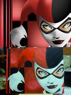 Cool Harley Quinn.