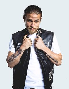 Charlie Hunnam  ...What girl doesn't like/want the bad boy with a heart of gold. Love me some JAX!