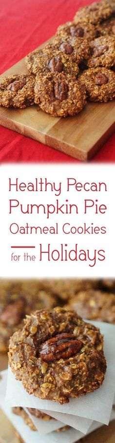 http://bestkitchenequipmentreviews.com/pressure-cooker/ These Pecan Pumpkin Pie Oatmeal Cookies are the perfect holiday treat.