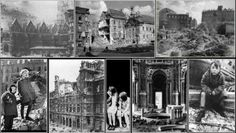 Fifty-Two 'Accidental' Allied Bombing Raids on Vienna; the State Opera House and St Stephen's Cathedral