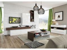 Dvojfarebná obývacia zostava Lofera 3