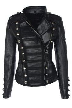 NN Napoleon (Oil black) – Leather Jackets, Mens, Womens Biker & Military Leather Jackets