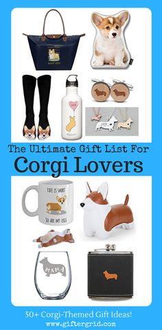 The ultimate gift list for those who are crazy about Corgis! These are so many cute gift ideas and the page also has gift ideas for all dog lovers as well, including DIY and recipes, gifts of experiences and charitable causes. These gift ideas will be sure to put a smile on your face!