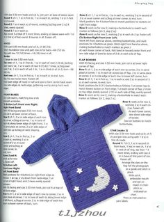 Crochet Knitting Handicraft: baby sleeping bag