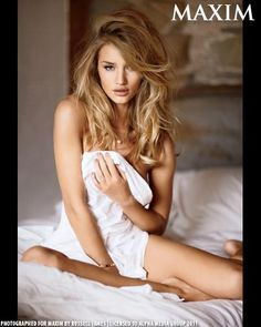 Rosie Huntington [you're not megan fox, but you did ok in the third movie of my favorite series!]
