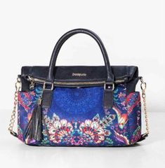 Desigual Bags and Accessories Online Fall Handbags, Handbags On Sale, Fashion Handbags, Purses And Handbags, Unique Handbags, Cheap Handbags, Cheap Purses, Cute Purses, Purses For Sale