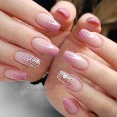 Are you looking for a gel nail art design and ideas? See our interesting collection of gel nail designs. I hope you can find the one you like best. Gel Nail Art Designs, Winter Nail Designs, Ombre Nail Designs, Pretty Nail Designs, Nail Designs For Easter, Cute Simple Nail Designs, Best Nail Designs, Natural Nail Designs, Black Nail Designs