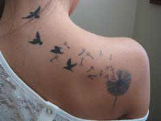 flower tattoos | Tumblr