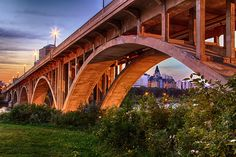 The image of the Bessborough Hotel framed within one of the arches of the Broadway Bridge is considered one of Saskatoon's iconic images.