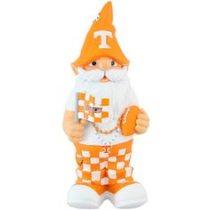Tennessee Volunteers Team Mascot Gnome