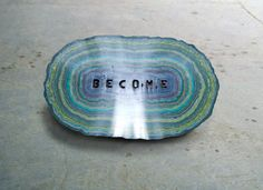 Keetra Dean Dixon, wax letterforms (http://www.jeanniejeannie.com/2012/11/20/mesmerizing-marbled-rings-of-color-layered-wax-type/)