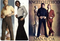 clothing styles of the early 1970's | Decade In Fashion: The 1970's