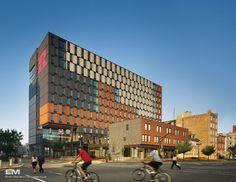 Rutgers Camden Graduate Student Housing traditional exterior