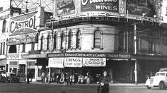 1940s: St Kilda Junction, Melbourne. Picture: Herald Sun Image Library/ ARGUS