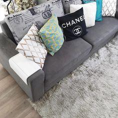 Minha sala de tv | Bruna Dalcin blog Comprando meu Apê