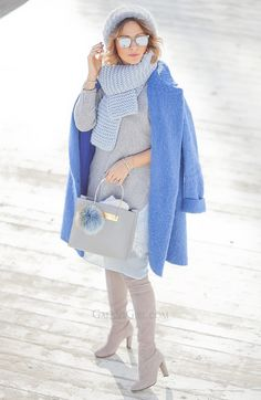 Winter Outfit Ideas - best warm yet comfy outfits for winter!