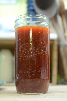 A recipe so fresh that the jar is still warm! Tiny batch of tomato jalapeño jam.