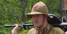 soldaat, soldier- Cabour- Cabourg- WO II- De Panne - Adinkerke- Museum