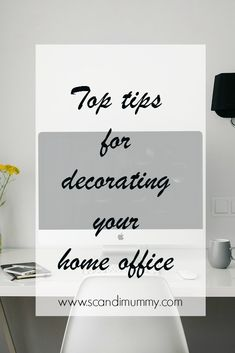 Perhaps even more so with a home office. Healthy Environment, Other Rooms, Office Ideas, Decorating Your Home, Home Office, Tips, Desk Ideas, Home Offices, Office Home
