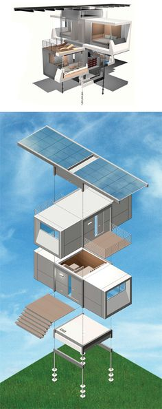 ZeroHouse fully sustainable solar waste processing water collection and completely automatic via sensors. Modular w/2 bedrooms $350K. For WV property?
