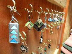 hanging dangly earrings