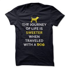 Journey with a dog T Shirt, Hoodie, Sweatshirts - custom sweatshirts #style #clothing