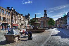 Elgin, Scotland: 2001-2011 - many trips to visit Em