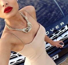 Dress & necklace