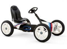 Buy the BERG BMW Street Racer Kids Ride-On Pedal KartOnline! Bmw Racing, Berg Go Kart, Buy Bmw, Karts, Toys R Us Canada, Kids Ride On, Rubber Tires, Trampolines, Red Dots