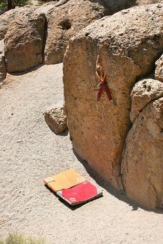 Siempre puedes llegar más alto #escalada #bulder