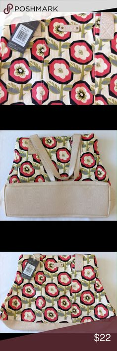 Pistil - No Big Deal / Rebel Yell Tote w/ flowers Flowered Tote Pistil Bags Totes