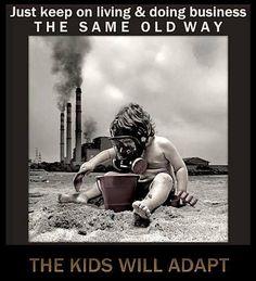 Koch Republican attitude towards their Environmental Destruction and Pollution!