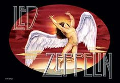 Led Zeppelin Icarus Fabric Poster (Video Embedded)