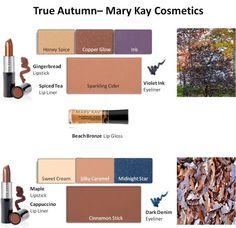 Mary Kay - True Autumn Looks #1 and #2