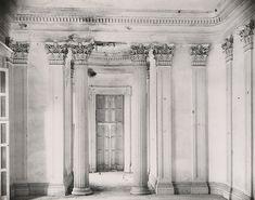 "WALKER EVANS, Breakfast Room at Belle Grove Plantation, White Chapel, Louisiana, 1935, silver print, printed 1974, ed. 75, 10 1/8"" x 12 13/16"""