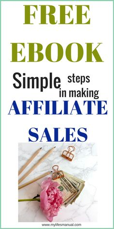 Free ebook for Affiliate marketing beginners. Now you can finally make affiliate sales with the simple marketing tips using Facebook and Pinterest in this free download ebook.