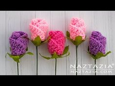 How to Crochet Simple Origami Rose This Simple Origami Rose flower is a nice and quick crochet project. It is made with double crochet stitches then rolled into shape. Rose Tutorial, Crochet Flower Tutorial, Crochet Flower Patterns, Crochet Flowers, Crochet Instructions, Crochet Simple, Double Crochet, Quick Crochet, Wire Crochet