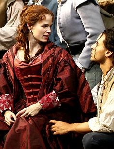 Jennifer Garner as Roxane in 'Cyrano de Bergerac.'  I got to meet her after this show.  She is such a nice, genuine person.