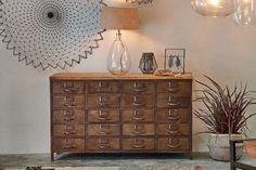 Sideboard Cabinet, Cabinet Furniture, Large Furniture, Filing Cabinet, Slab Table, Kiln Dried Wood, Industrial Shelving, Metal Drawers, Higher Design
